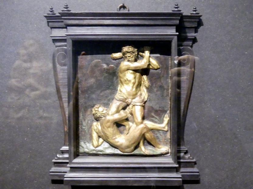 Vittore Gambello: Herkules erschlägt Kakus, um 1510