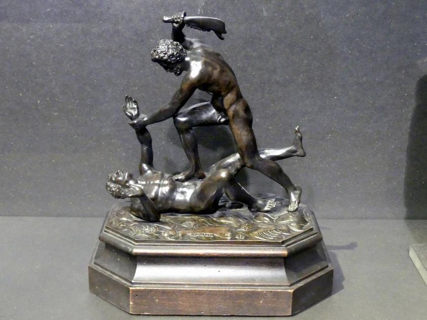 Samson erschlägt den Philister, Um 1550