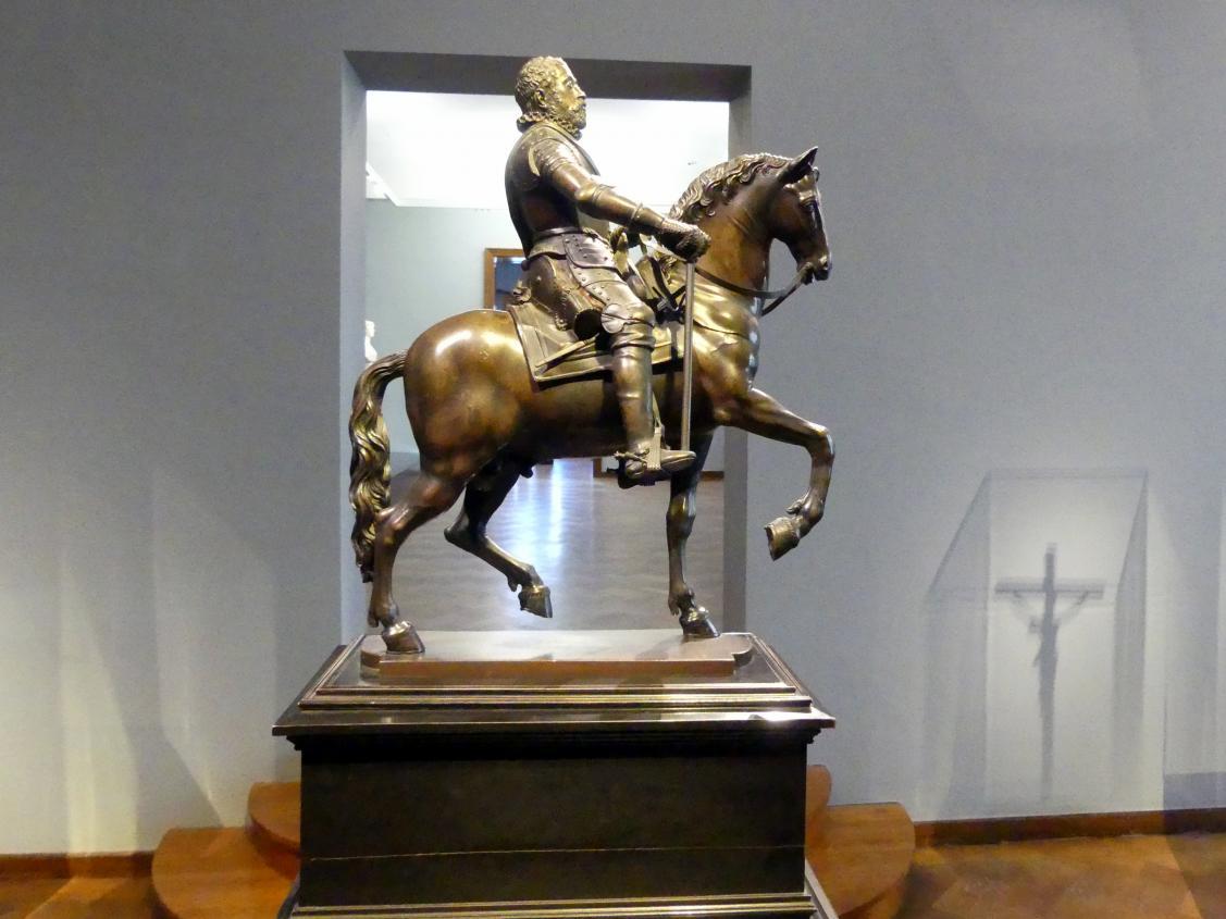 Hubert Gerhard: Reiterstatue von Erzherzog Maximilian III. von Österreich, Um 1599 - 1602