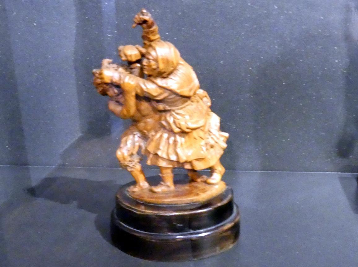 Meister R.v.V.: Die Schlacht des Teufels mit einem alten Weib, Um 1600