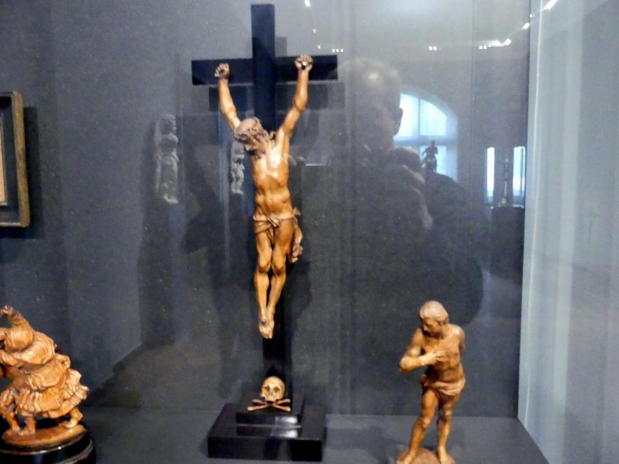 Kruzifix mit Totenkopf, Um 1600 - 1650
