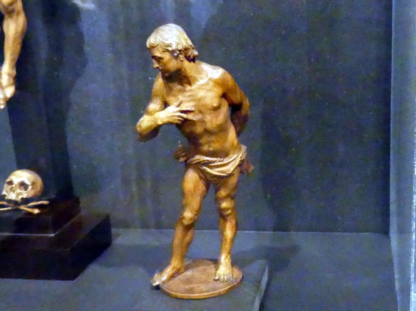 Georg Pfründt: Männliche Figur mit Lendentuch, Um 1630 - 1650
