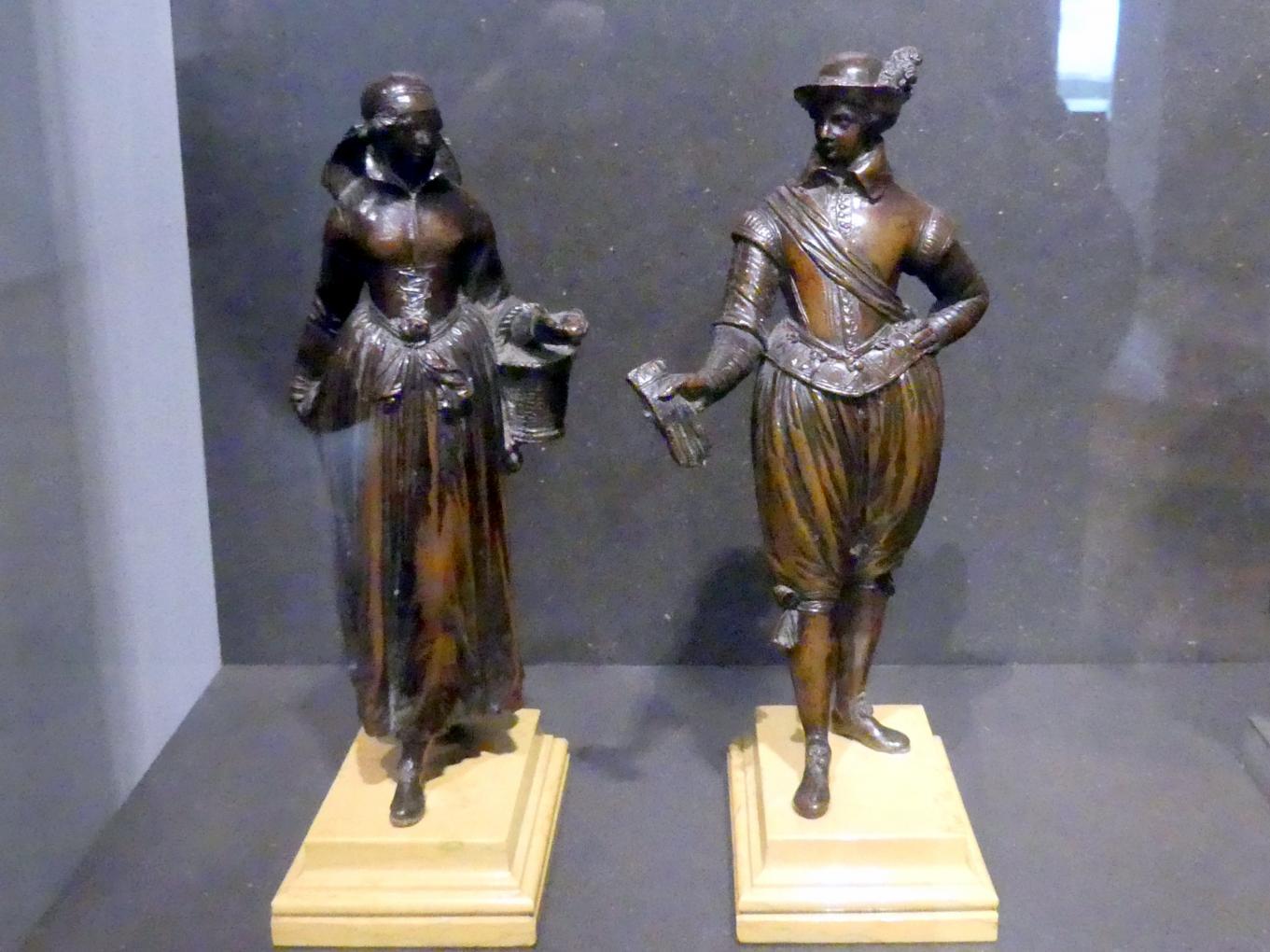 Barthélemy Prieur: Magd und Kavalier, Um 1600
