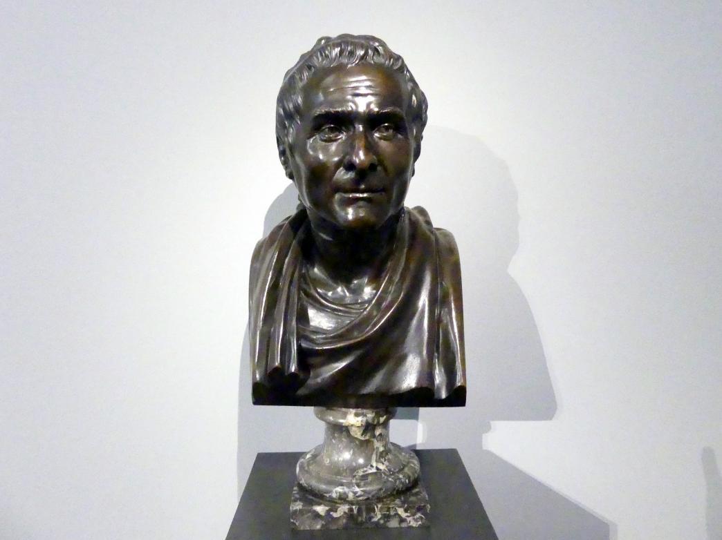 Jean-Antoine Houdon: Jean-Jacques Rousseau (1712-1778), 1780