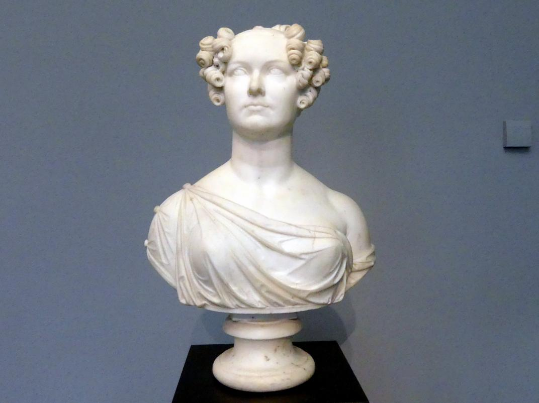 Adamo Tadolini: Weibliche Portraitbüste, 1. Hälfte 19. Jhd.