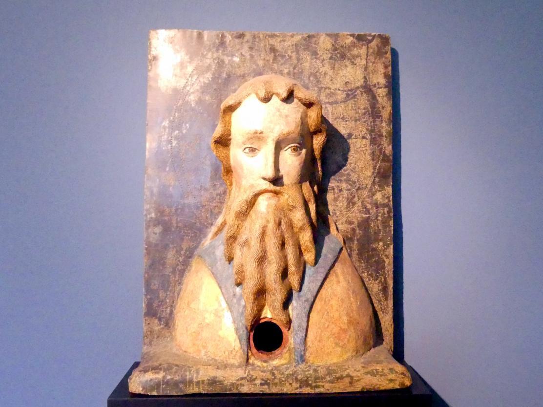 Büstenreliquiar eines bärtigen Heiligen, Um 1420