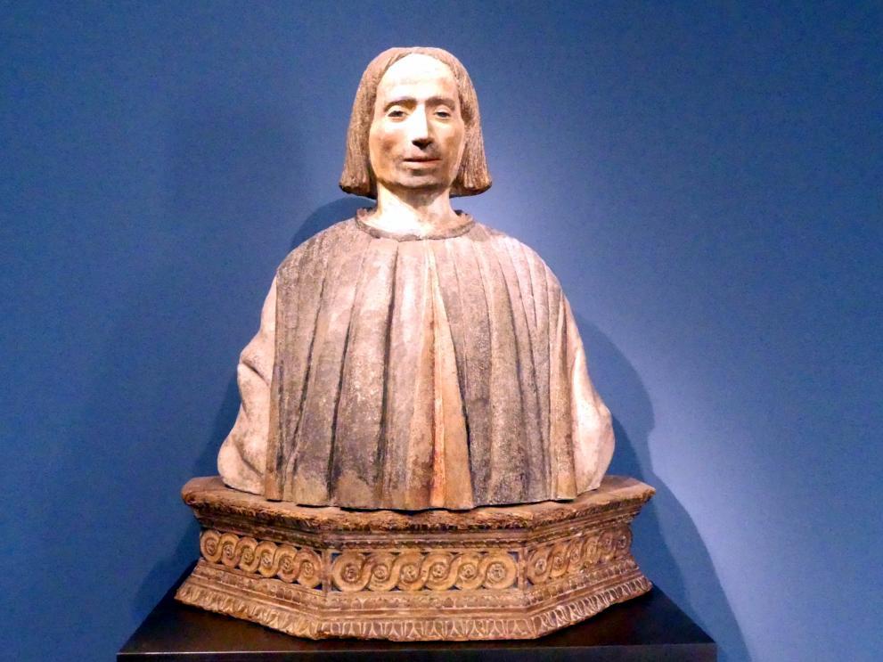 Männliche Porträtbüste, Um 1500