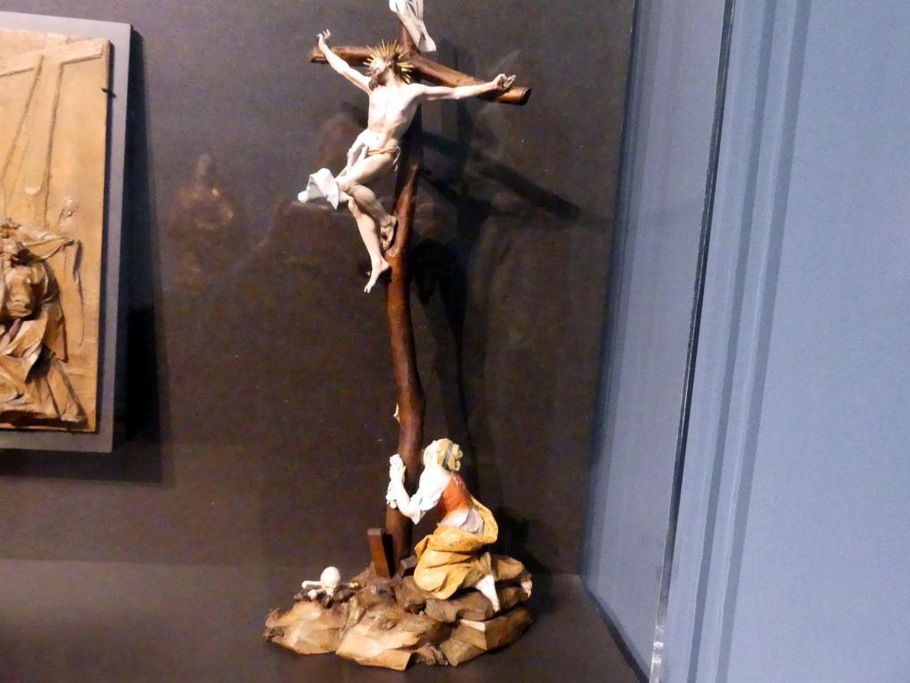 Christian Jorhan der Ältere: Kruzifix mit Maria Magdalena, um 1770