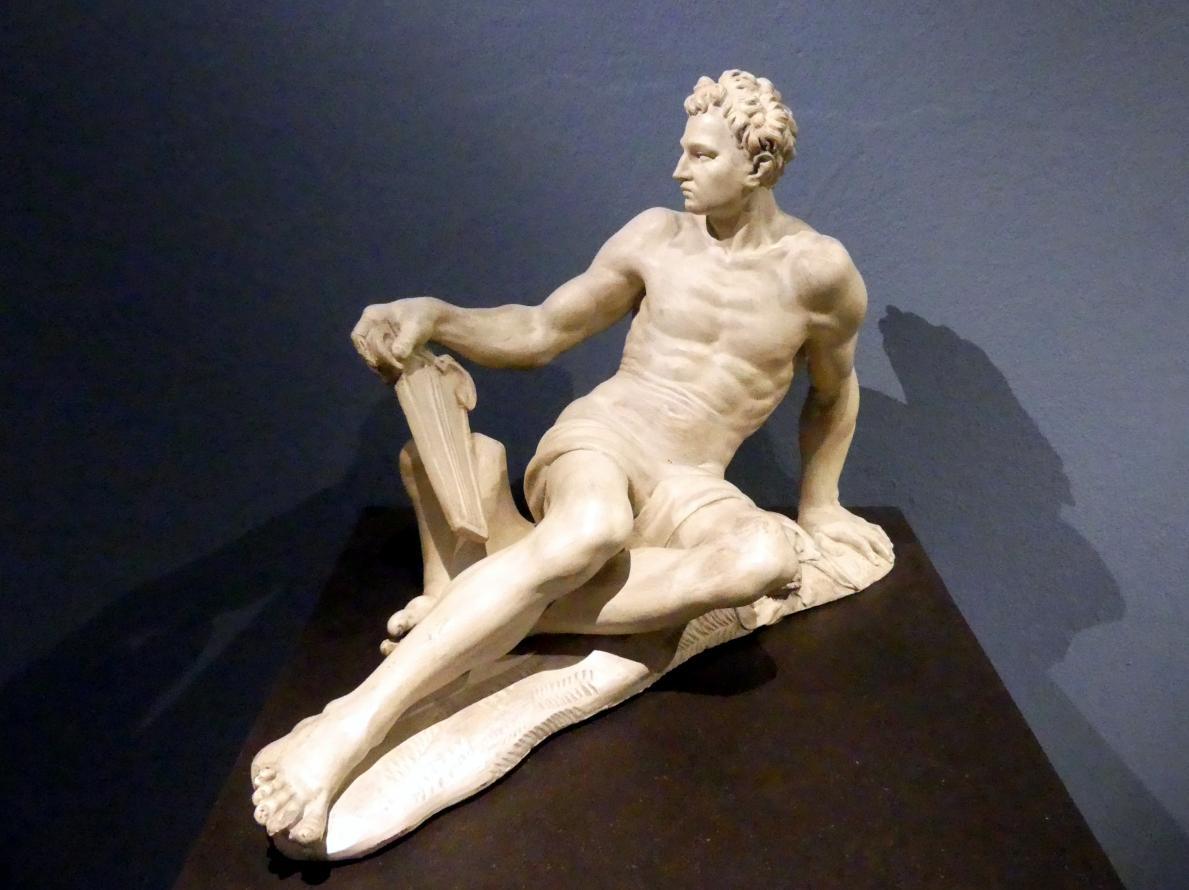 Gaetano Gandolfi: Liegender Apoll, Um 1760