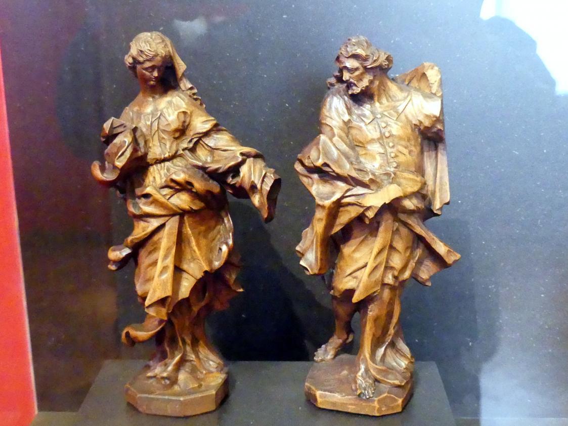 Franz Anton Kuen: Noli me tangere, Christus und Maria Magdalena, 1710