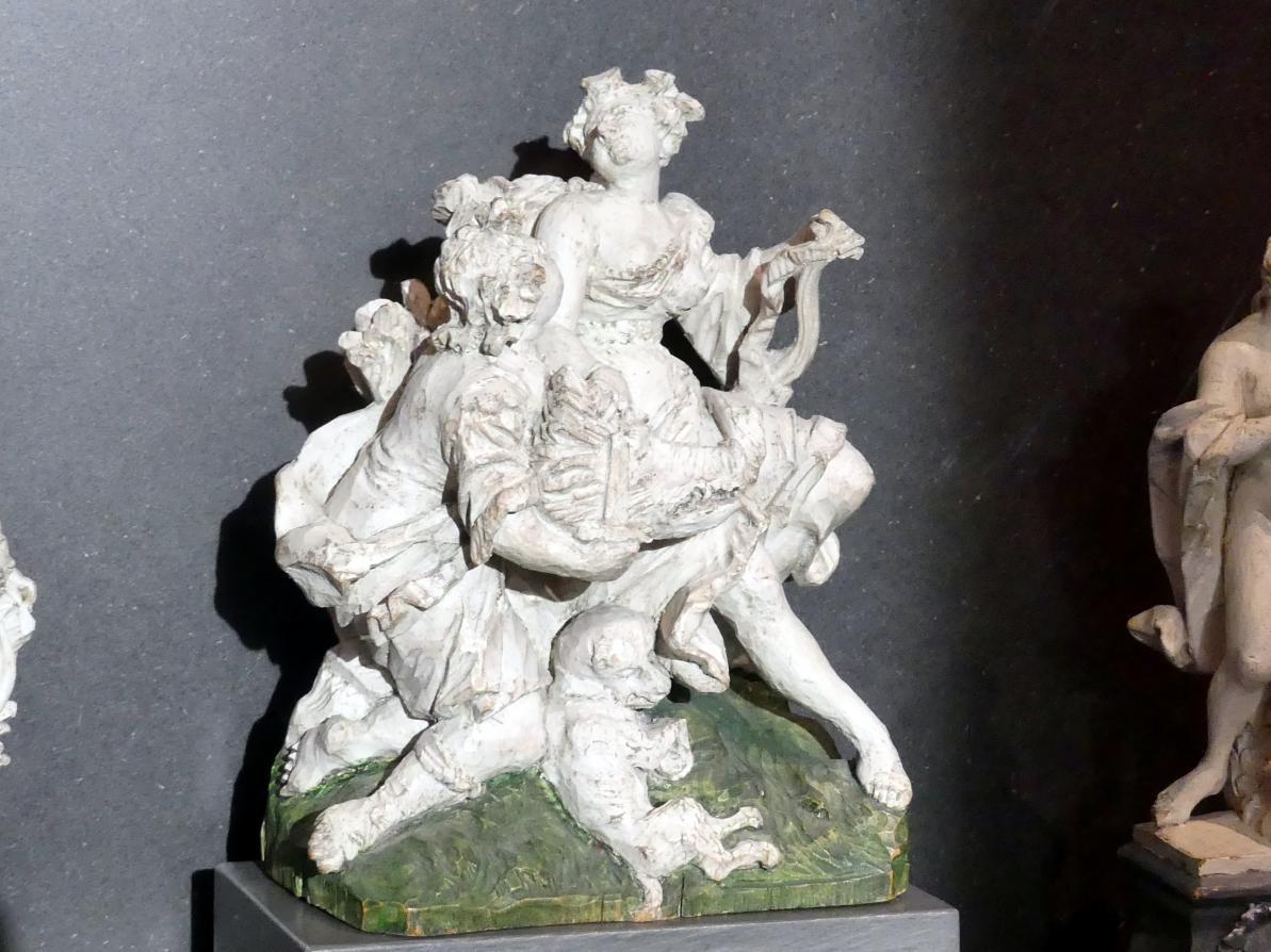 Ferdinand Tietz (Ferdinand Dietz): Meleager und Atalante, Um 1750