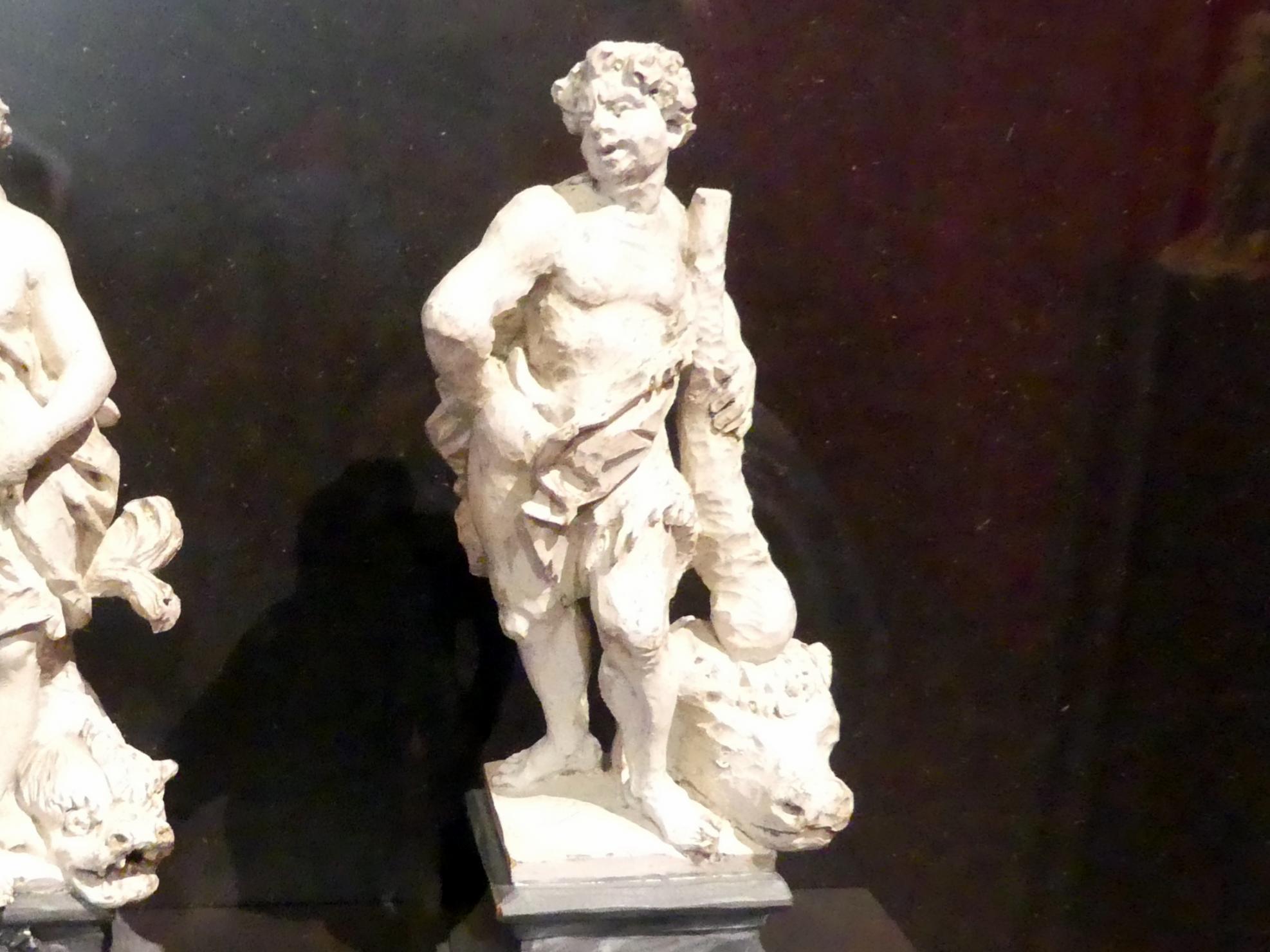 Ferdinand Tietz (Ferdinand Dietz): Herkules, um 1750
