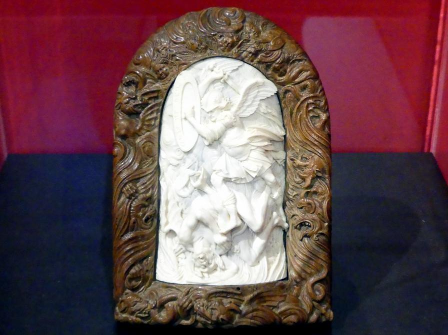 Christoph Daniel Schenck: Kampf des Erzengels Michael gegen den Teufel, 1683