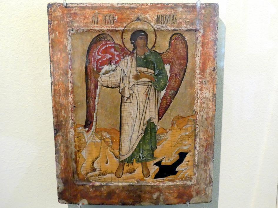 Erzengel Michael mit der Weltenkugel, um 1600
