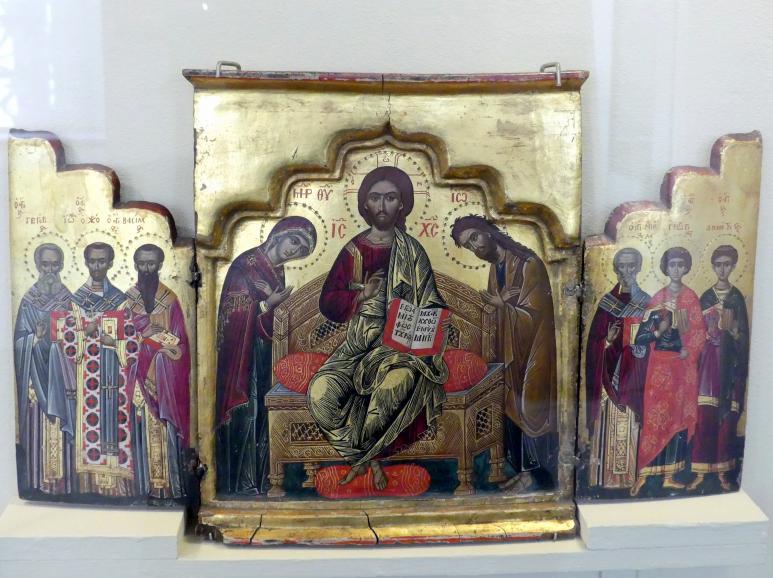 Triptychon Erweiterte Deesis, 16. Jhd.