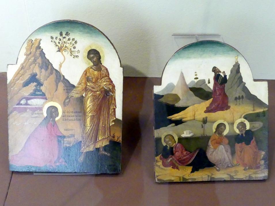 Noli me tangere und Christus im Garten Gethsemane, um 1600