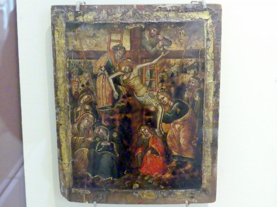 Angelo Bissamano: Kreuzabnahme, um 1530