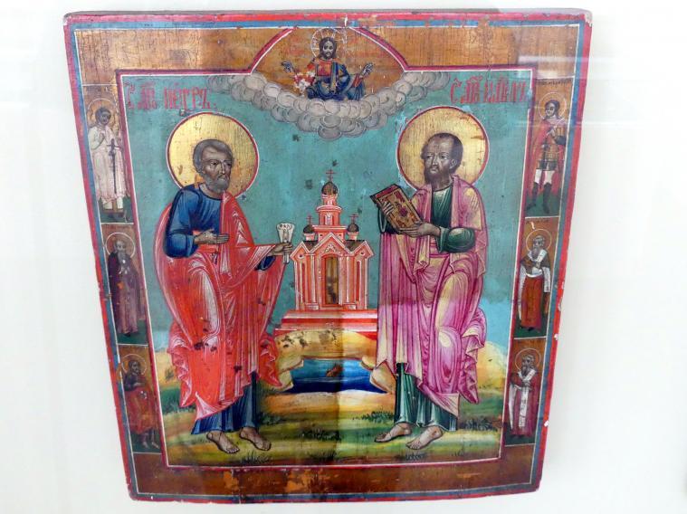 Die Heiligen Peter und Paul, 1. Hälfte 19. Jhd.