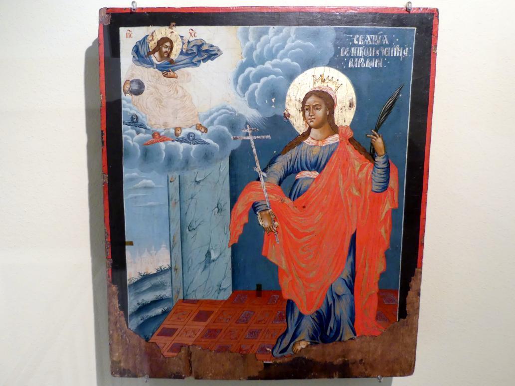 Heilige Barbara, 1. Hälfte 18. Jhd.