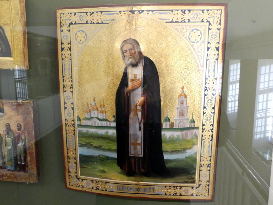 Heiliger Seraphim von Sarov, um 1910