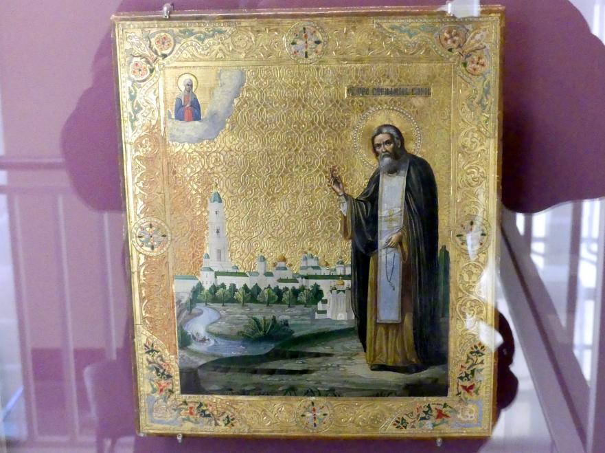 Heiliger Seraphim von Sarow, Beginn 20. Jhd.