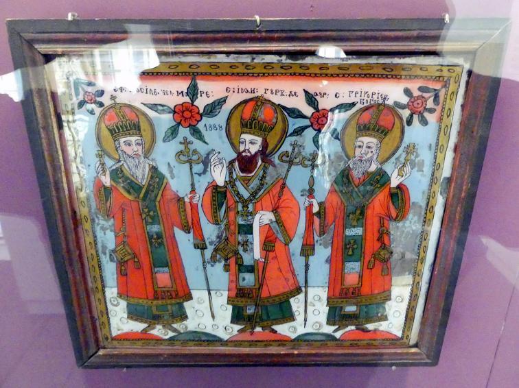Matei Timforea: Die drei Hierarchen, 1888