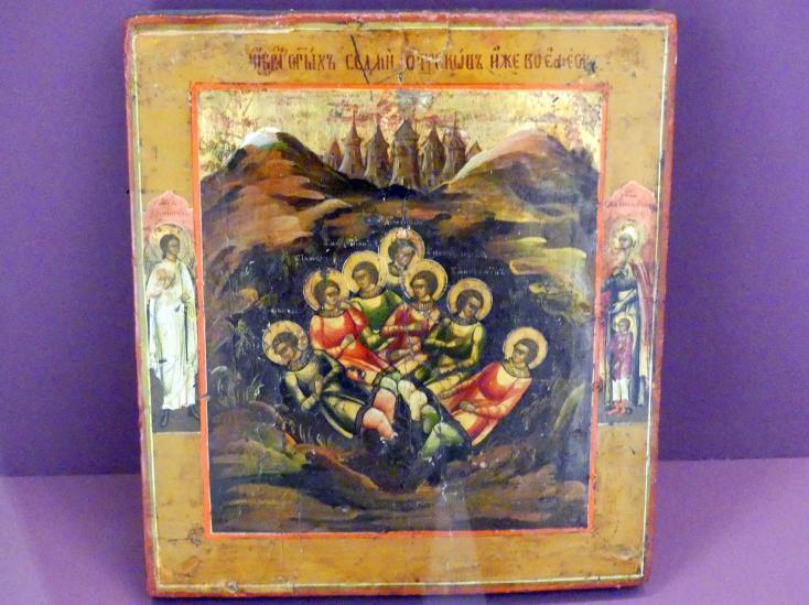 Sieben Schläfer von Ephesus, 1. Hälfte 19. Jhd.