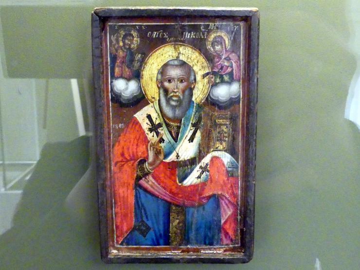 Heiliger Nikolaus von Myra, 1882