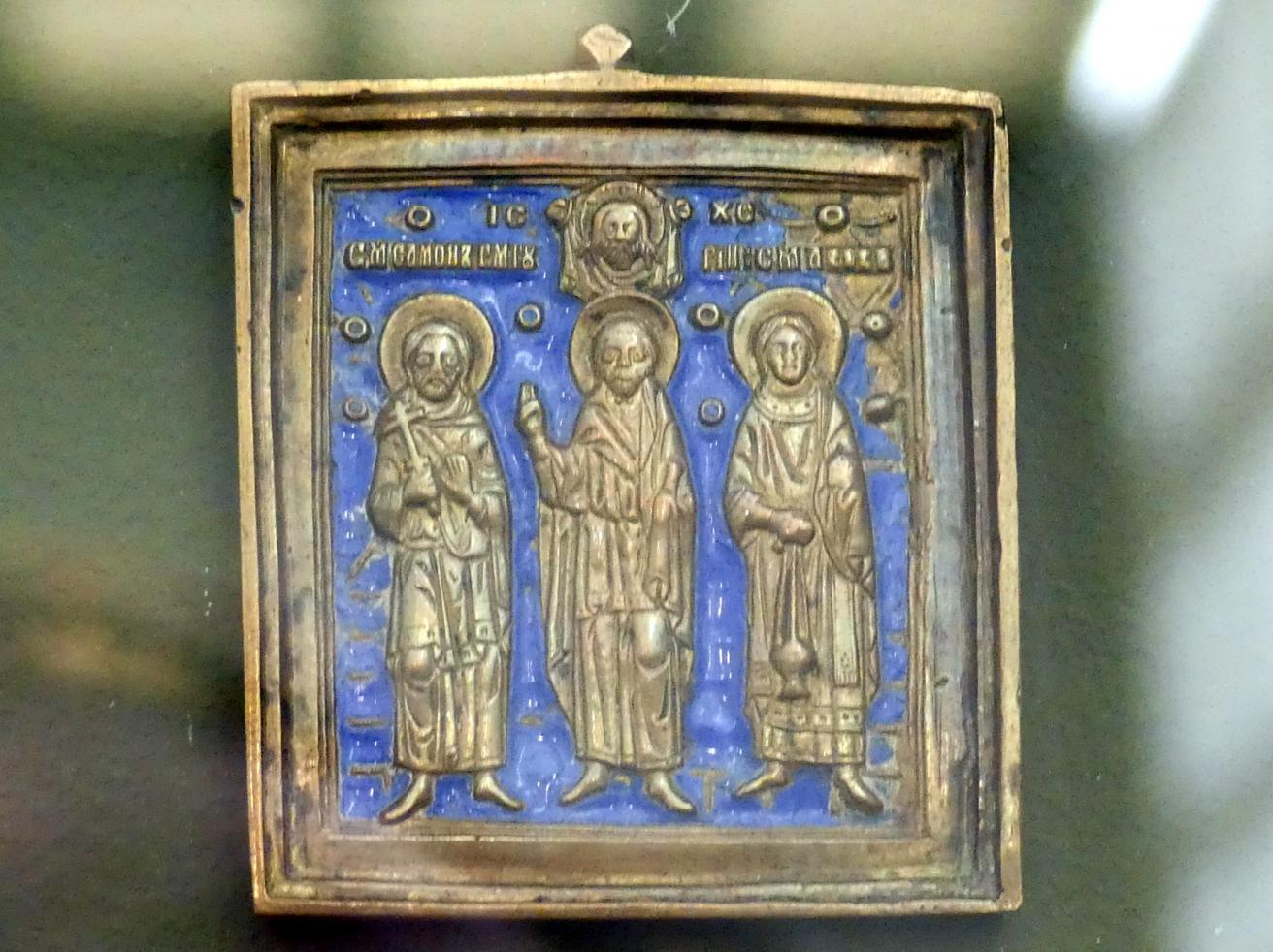 Heilige Samonas, Gurias und Abibas, Undatiert
