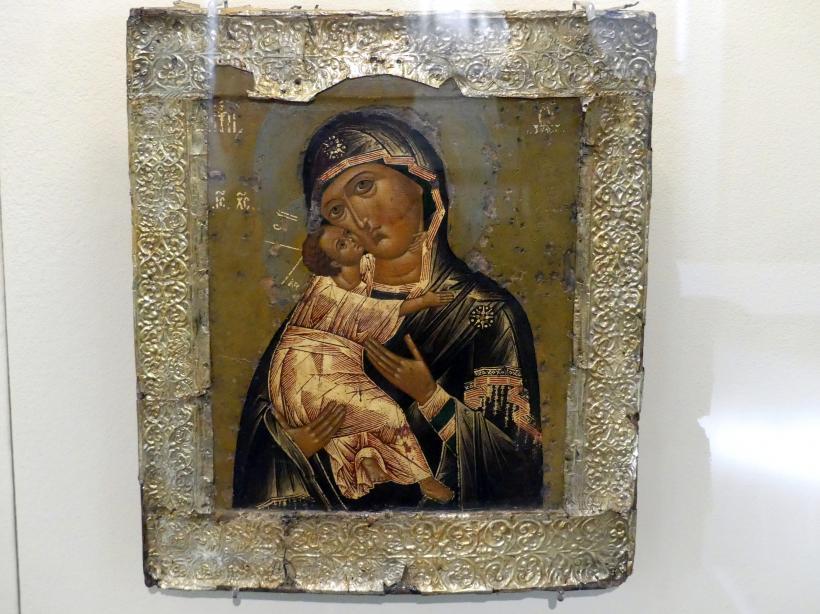 Gottesmutter von Vladimir, Beginn 17. Jhd.