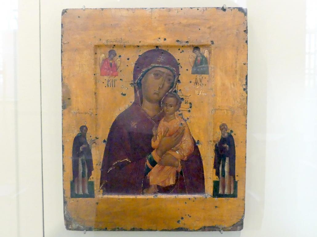 Gottesmutter Pimenowskaja, Beginn 17. Jhd.