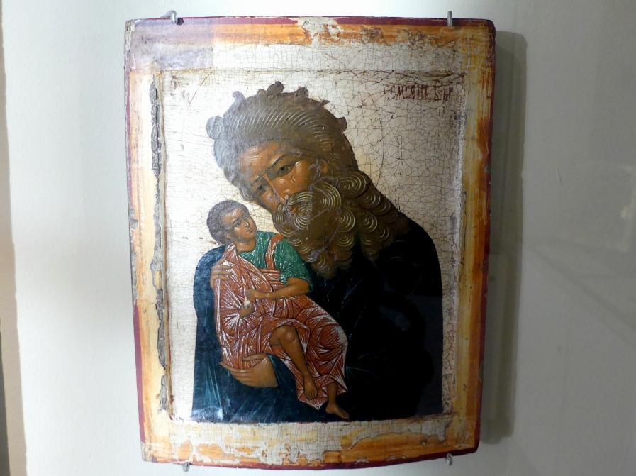 Heiliger Simeon der Gottesträger, Ende 17. Jhd.