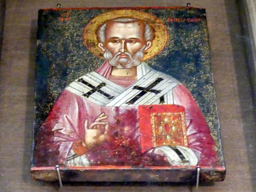 Heiliger Nikolaus von Myra, 18. Jhd.