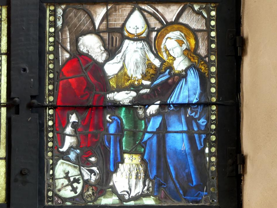 Hans Baldung Grien: Vermählung Maria, um 1505