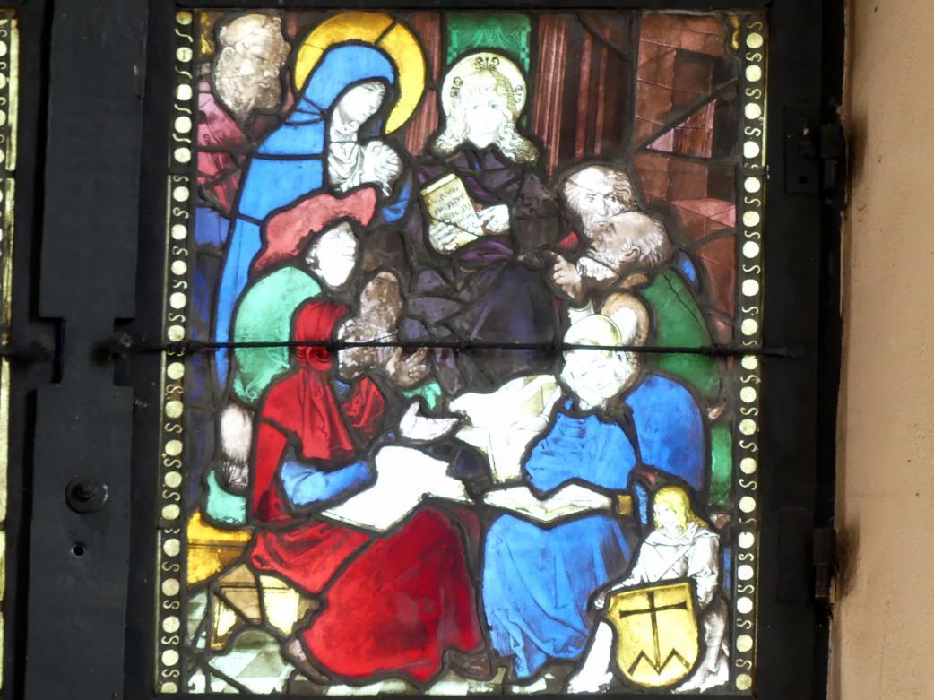 Hans Baldung Grien: Der zwölfjährige Jesus im Tempel, Um 1505