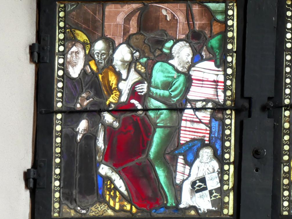 Hans Baldung Grien: Jesus und die Ehebrecherin, Um 1505