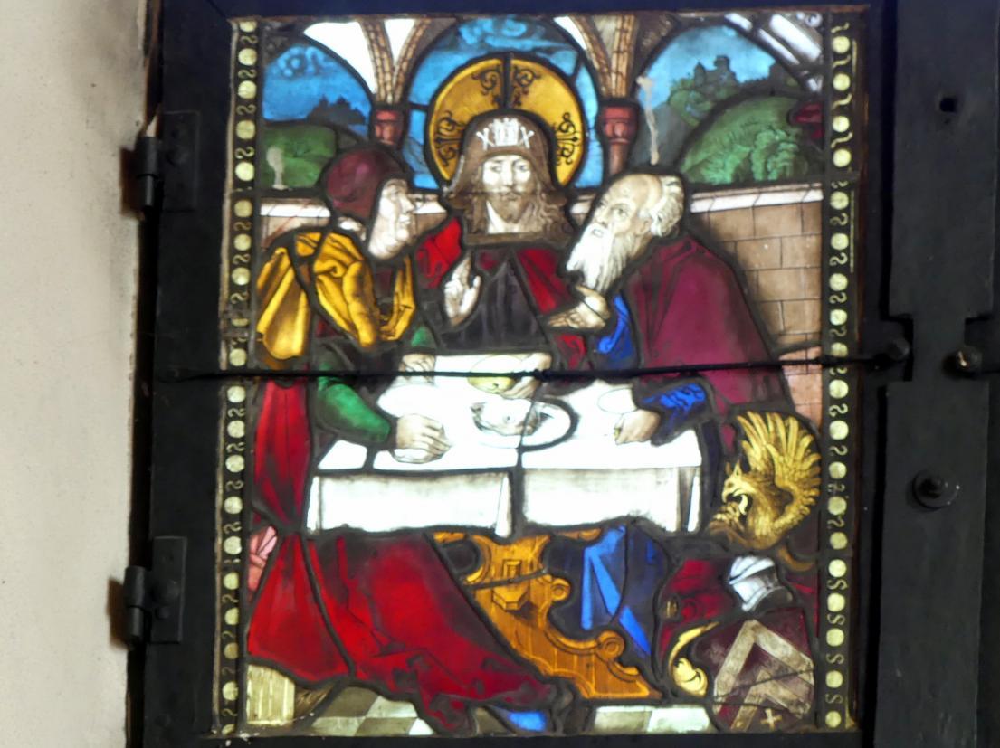 Hans Baldung Grien: Jesus und die Jünger in Emmaus, Um 1505