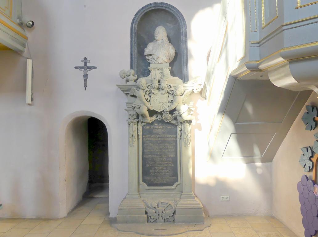 Grabmal für Christoph Carl Pfinzing, nach 1739