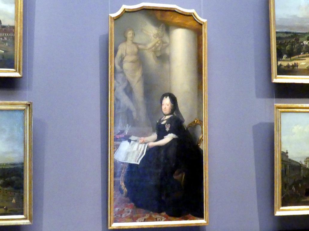 Anton von Maron: Maria Theresia als Witwe, 1773
