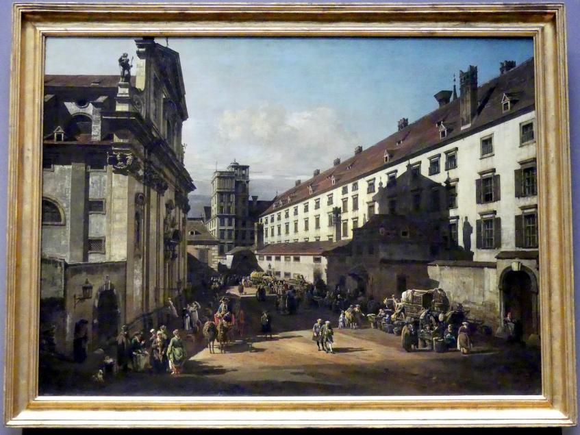 Bernardo Bellotto (Canaletto): Die Dominikanerkirche in Wien, 1758 - 1761