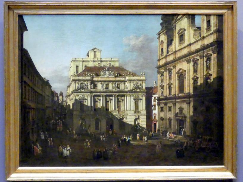 Bernardo Bellotto (Canaletto): Der Universitätsplatz in Wien, 1758 - 1761