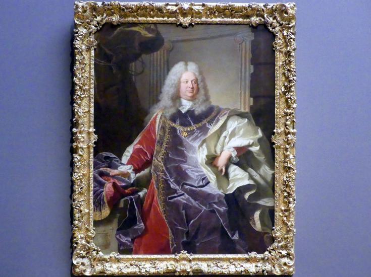 Hyacinthe Rigaud: Graf Philipp Ludwig Wenzel Sinzendorf, 1728