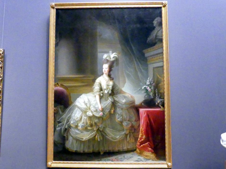 Élisabeth Vigée-Lebrun: Erzherzogin Marie Antoinette (1755-1793), Königin von Frankreich, 1778