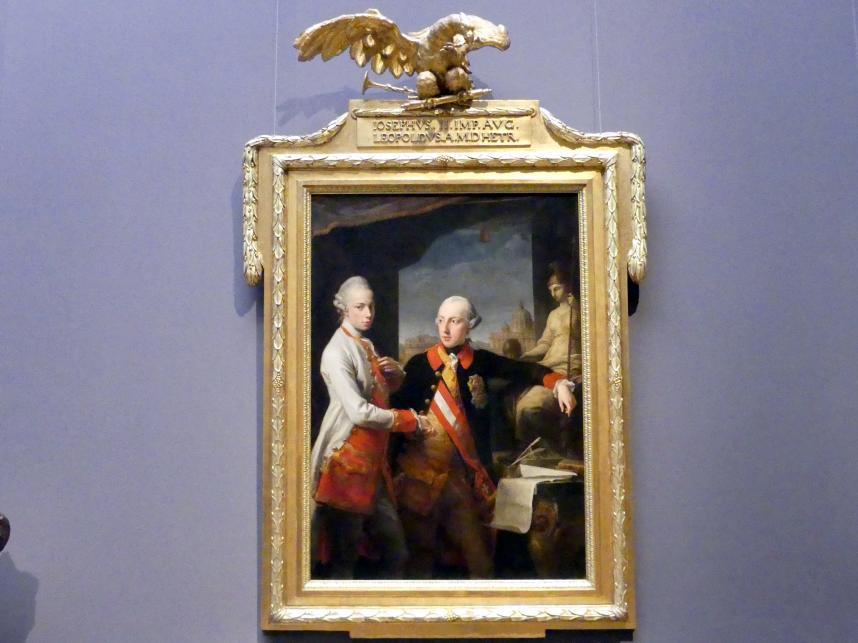 Pompeo Girolamo Batoni: Kaiser Joseph II. und Großherzog Pietro Leopoldo von Toskana, 1769