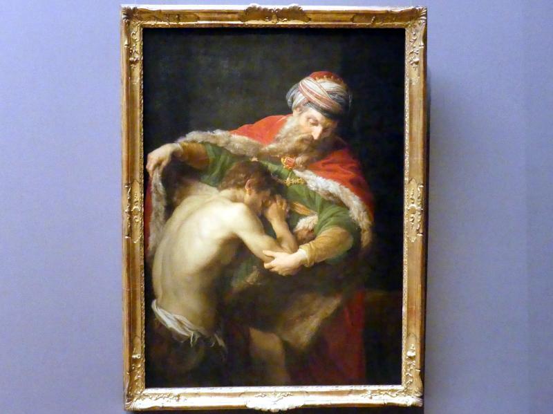 Pompeo Girolamo Batoni: Heimkehr des verlorenen Sohnes, 1773