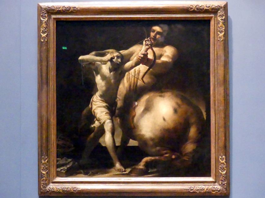 Giuseppe Maria Crespi (Spagnuolo): Der Kentaur Chiron und Achill, Um 1695 - 1700