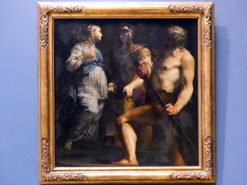 Giuseppe Maria Crespi (Spagnuolo): Äneas, die Sybille und Charon, um 1695 - 1705