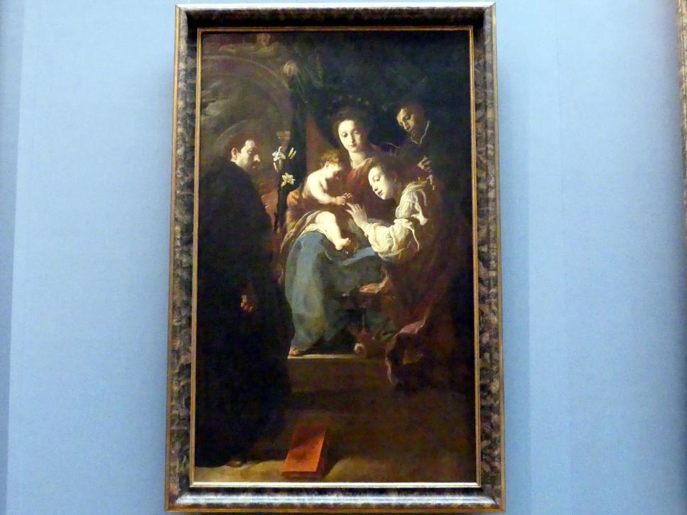 Domenico Fetti: Mystische Verlobung der Hl. Katharina, Um 1617 - 1621