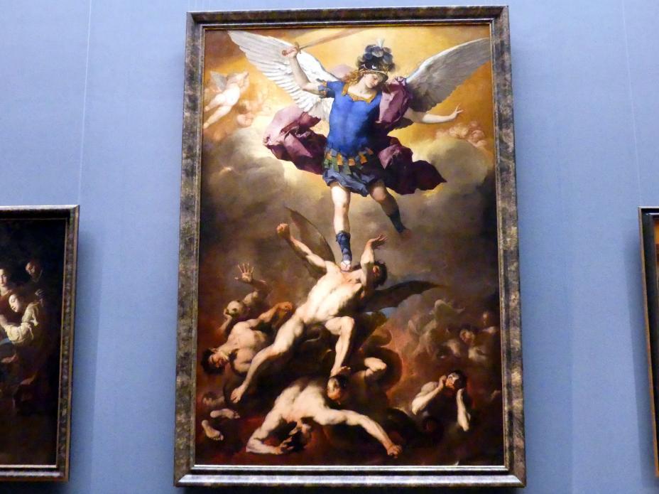 Luca Giordano: Der Erzengel Michael stürzt die abtrünnigen Engel, um 1664