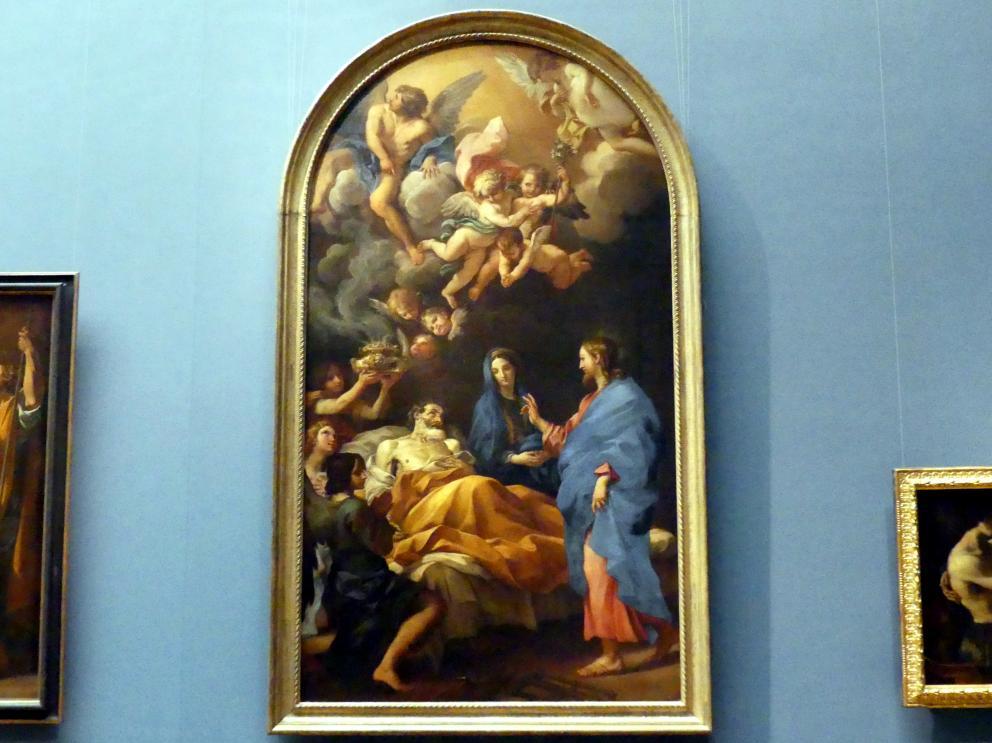 Carlo Maratta: Tod des hl. Joseph, 1676